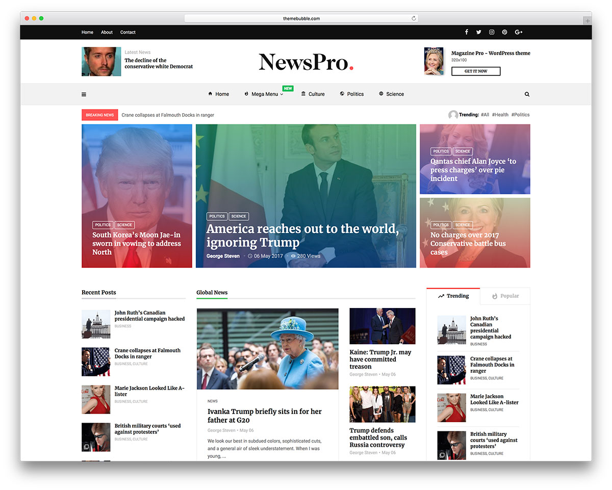 giao diện WordPress