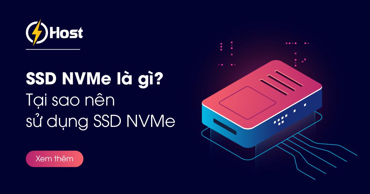 tại sao nên dùng ssd nvme