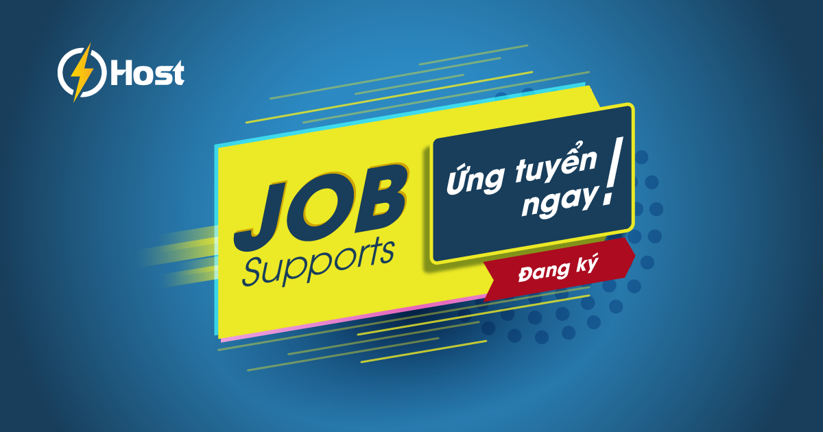 tuyển dụng support